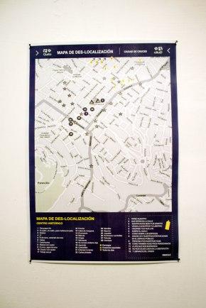 Mapa de Des-localización - Marisol Maza