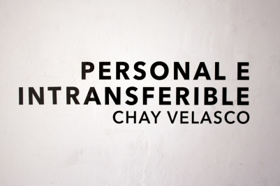 Personal e Intransferible - Chay Velasco