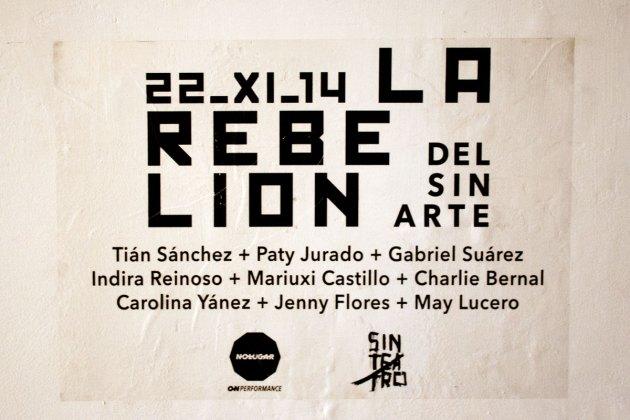 La Rebelión del Sin Arte