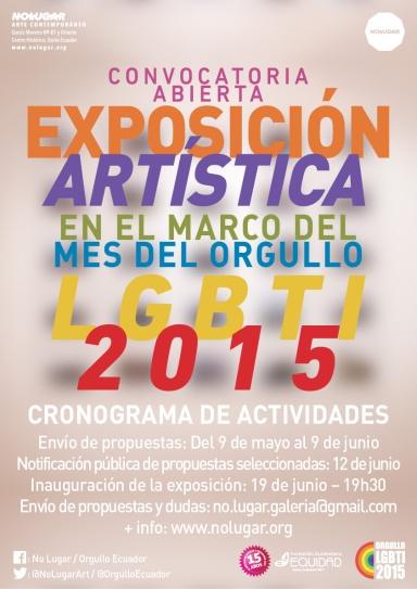 AficheConvocatoria-Expo-LGBTI-2015