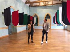 Visita a la obra de la artista María José Argenzio en la XIII Bienal de Cuenca
