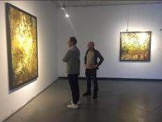 Visita a la obra del artista Pablo Cardoso en la XIII Bienal de Cuenca