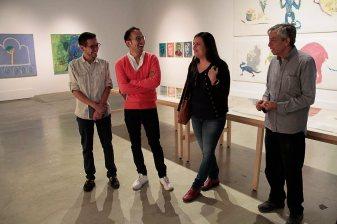 Visita a la exposición Antológica del artista Pablo Barriga