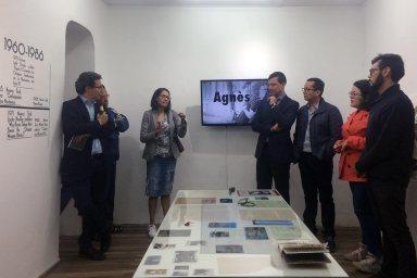Inauguración - Tras los pasos de Agnes A. Caamaño
