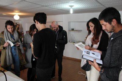 Visita a Ramonn Vieitez artista residente en No Lugar