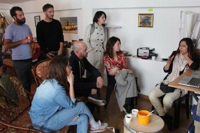 Presentación de portafolio de la artista Saskia Calderón