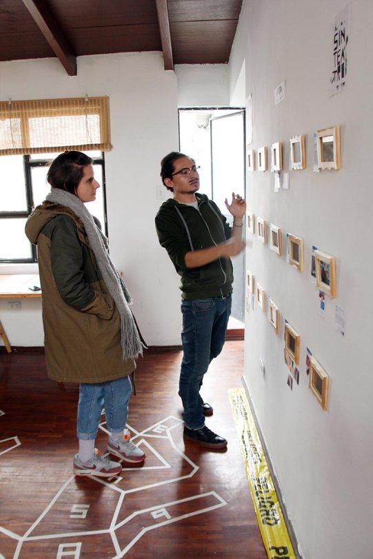 Visita al taller de Tián Sánchez