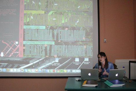 Florencia Portocarrero en Estrategias en Uso