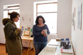 Visita al taller de Clio Bravo