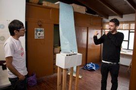 Visita al taller de Christian Proaño