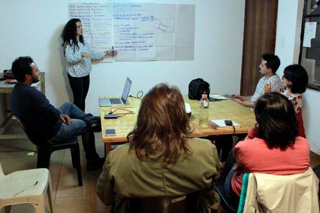 Site Specific - taller de intervenciones