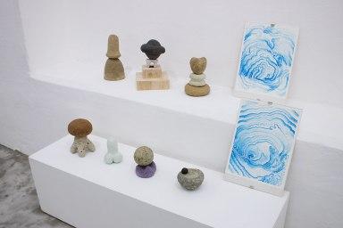 Escultura Namekusei / Espíritus del vudú / Adoración de los magos - David Cevallos D.