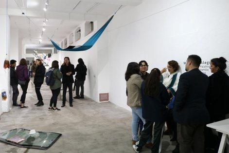 Inauguración - Materia & Alegoría
