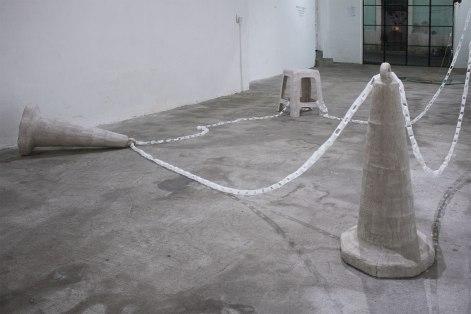 Obra paralizada - Daniel León 'Palaminga'