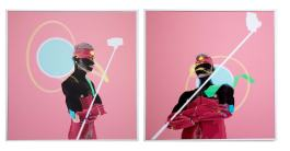 #trophy #self | Ernesto Salazar | Modelado 3D, impresión fotográfica | 40x40 cm c/u | 2019 | 130 USD c/u