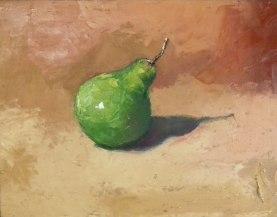 Pera | Ilowasky Ganchala | Óleo sobre canvas | 20x25cm | 2015 | 200 USD