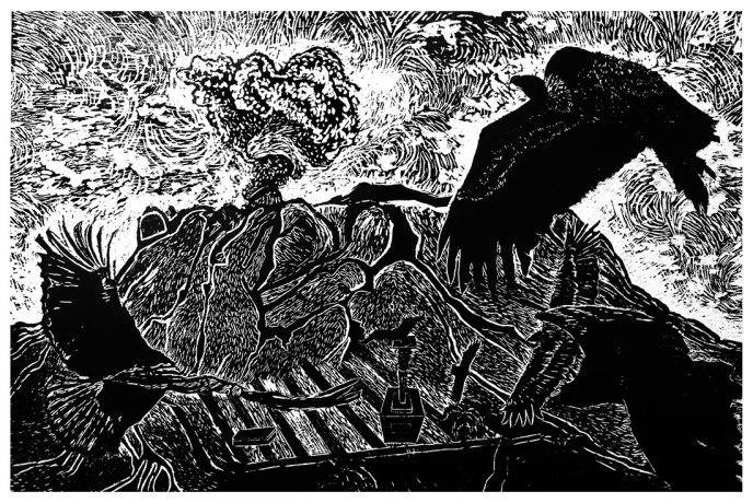 La tierra, el suelo, el territorio, el paisaje y la naturaleza | Karina Cortez | Impresión digital sobre papel de algodón | 75x50 cm Ed. 1/5 | 2016 | $180 (Sin marco)