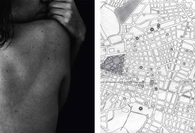 ST (Cuerpo - Territorio) | Martina Avilés y Sofía Acosta (La Suerte) | Fotografía digital, impresión sobre papel fotográfico (Sin marco) | 42x60 cm (díptico) | 2017-2018 | 150 USD