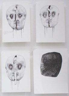ST | PalaMinga | Tinta sobre papel de algodón | 21x30 cm c/u | 2018-19 | $40 c/u