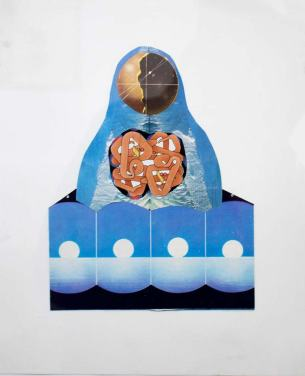 LIFEFORMS | Juan Shapan | Collage | 21x26 cm | 80 USD (sin marco)