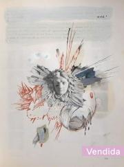 Trouble Every Day (homenaje al coreógrafo de John Wick) | Xavier Coronel | Mixta sobre papel | 21x30 cm | 2020 | 200 USD (Sin marco)