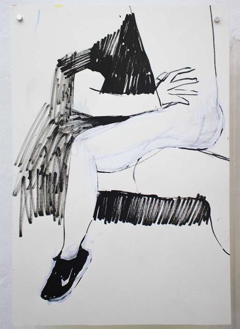 ST | Stephano Espinoza | Dibujo | 21x15 cm | 2019 | 60 USD (sin marco)