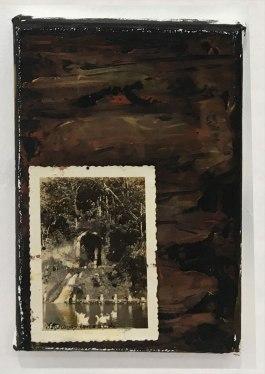 ST | Juanca Vargas | Óleo y fotografía de archivo sobre lienzo | 18x12 cm | 2018 | 80 USD