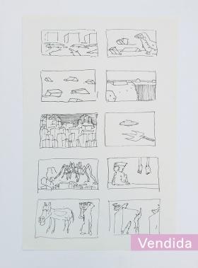 ST (cómics) | Carlos Echeverría Kossak | 30x20 cm | 2015 | 70 USD (Sin marco)