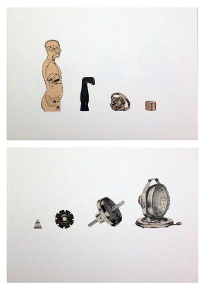 ST | David Cevallos D | Collage | 10x15 cm c/u | 70 USD (sin marco)